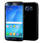 Coque TPU Glossy Noir pour Samsung S7 Edge