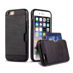 Coque Defender Card iPhone 5/5S Noir