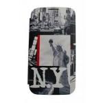 ETUI FOLIO SMG GXY S5 MINI AKASHI NYC STATUE