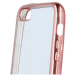 COQUE FRAME SAMSUNG S6 EDGE ROSE