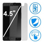 Verre Trempé 2D Transparent Universel pour Écran 4.5 pouces