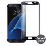 Verre Trempé Bord à Bord 3D Noir pour Samsung S7 Edge