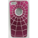 COQUE IP5 ALU SPIDER FUSHIA