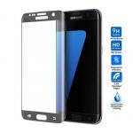 Verre Trempé Bord à Bord 3D Noir pour Samsung S7