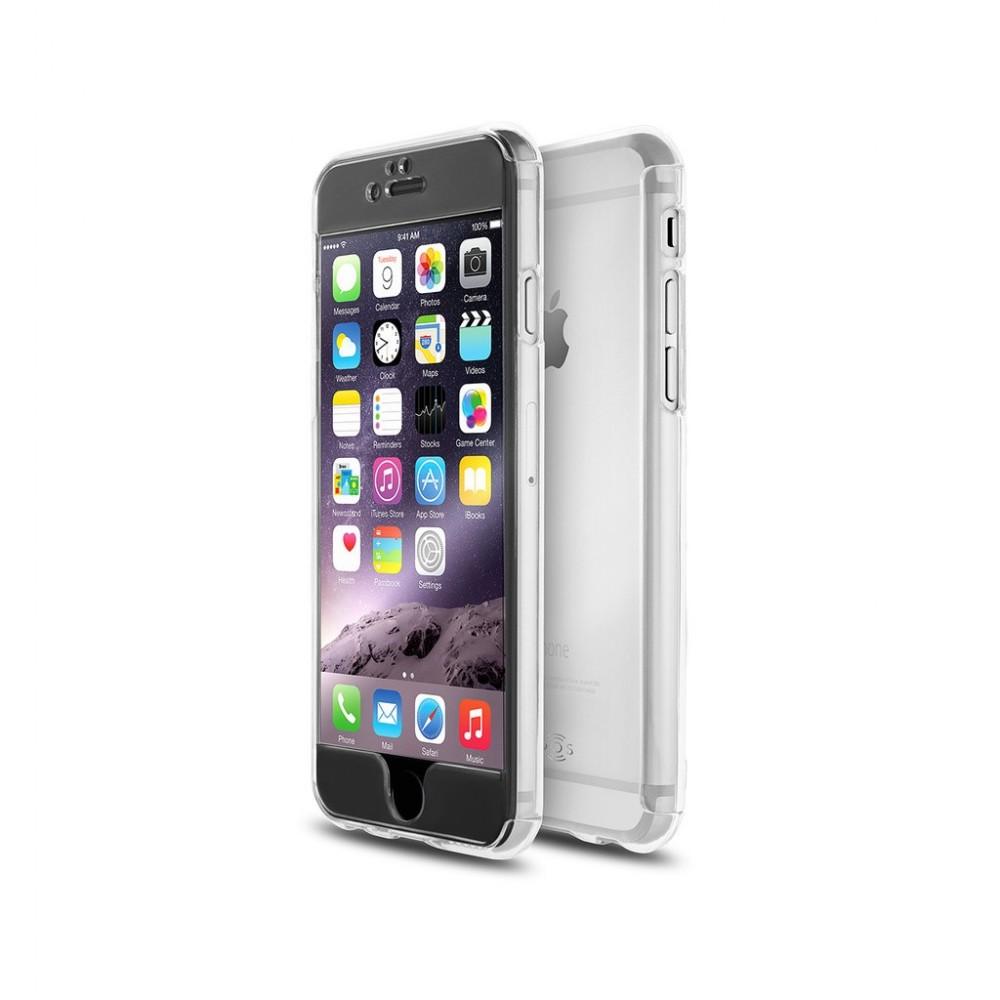 coque 360 qdos fusion hd iphone 6 6s plus transparent