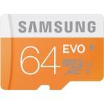 Carte Mémoire Micro SD Samsung Evo 64 Gb Classe 10