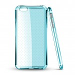 Coque TPU Bleu Hard Corner pour Huawei P8 Lite