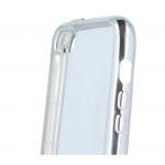 Coque TPU Ultra Hybrid Argent pour Samsung S6