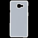 Coque Rigide Transparent et plaque Alu pour Samsung A7 2016