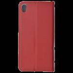 Etui Folio Magnet Rouge pour Sony E5