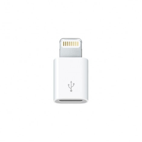 Adaptateur Apple MD820Z M/A Micro USB vers Lightning