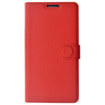 Etui Folio Class Rouge pour Samsung A3 2017