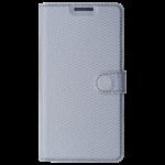 Etui Folio Class Argent pour Samsung A3 2017