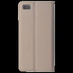 Etui Folio Magnet Or pour Huawei P8 Lite