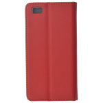 Etui Folio Magnet Rouge pour Huawei P8 Lite
