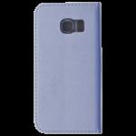 Etui Folio Magnet Argent pour Samsung S6 Edge