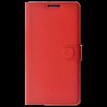 Etui Folio Class Rouge pour Huawei P10