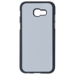 Coque Rigide Noir et plaque Alu pour Samsung A5 2017