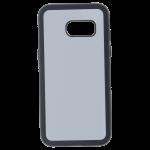 Coque Souple Noir et plaque Alu pour Samsung A3 2017