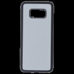 Coque Souple Noir et plaque Alu pour Samsung S8