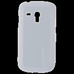 Coque Rigide Blanc et plaque Alu pour Samsung S3 Mini