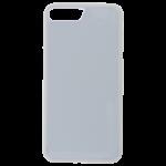 Coque Souple Blanc et plaque Alu pour Apple iPhone 7/8 Plus