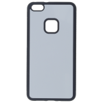 Coque Souple Noir et plaque Alu pour Huawei P10 Lite